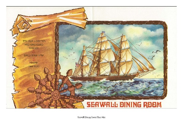Seawall Dining Room Placemat