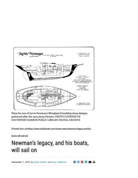 Newman's legacy, and his boats, will sail on