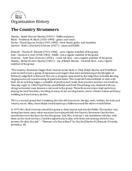 The Country Strummers