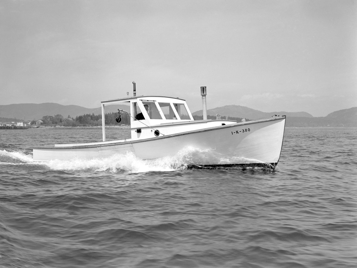Laurence Saunders Newman's Lobster Boat