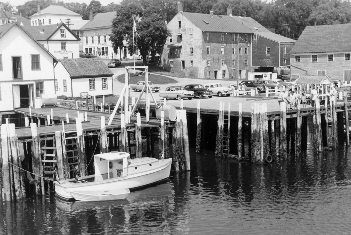Roger Clifton Rich - Rich & Grindle Boatbuilders - Lobster Boat Meredith I at Castine