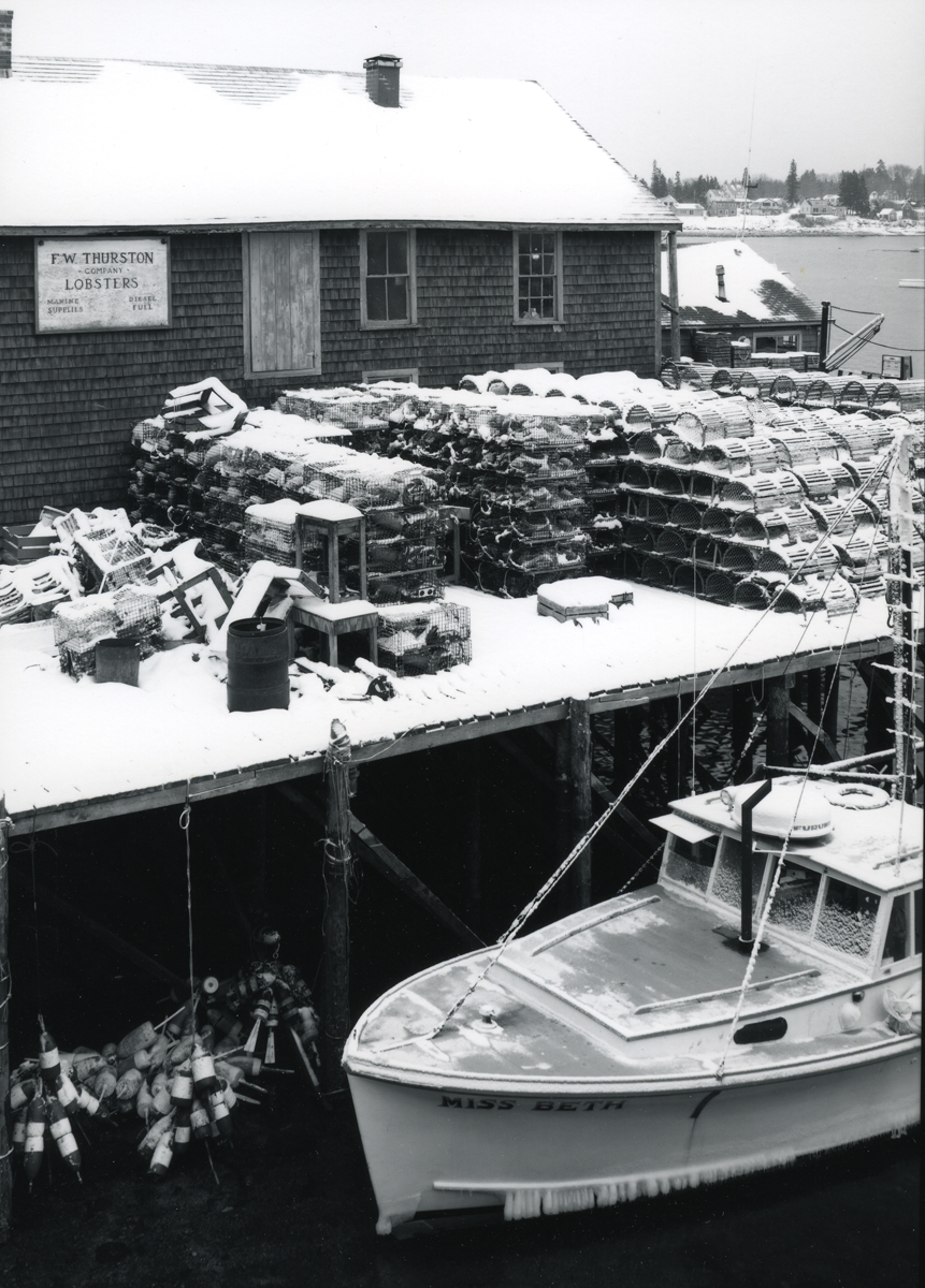 Lobster Boat Miss Beth at the F.W. Thurston Company Wharf