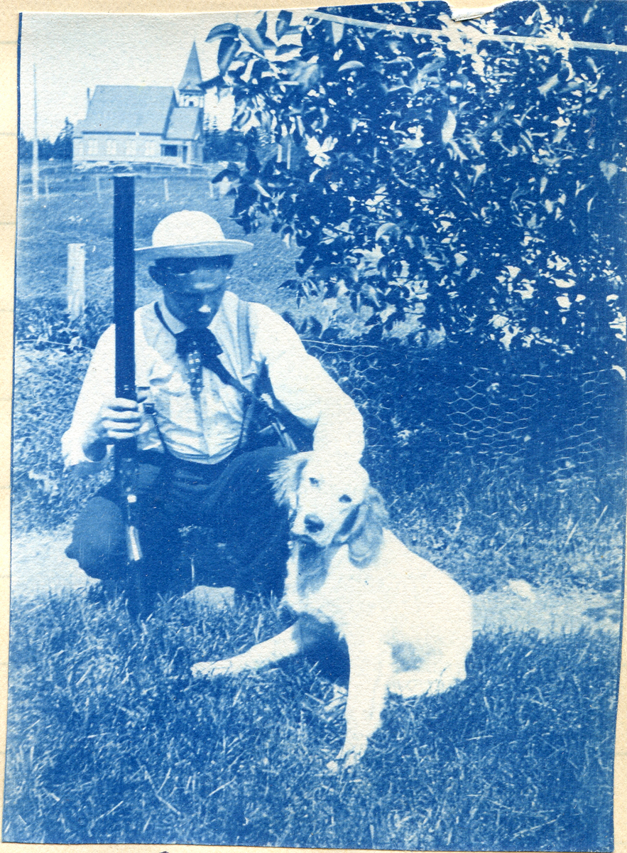 William Lloyd Carroll with Ted and Gun