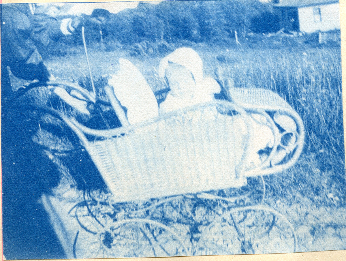 Ruth Carroll Kittredge in Baby Carriage