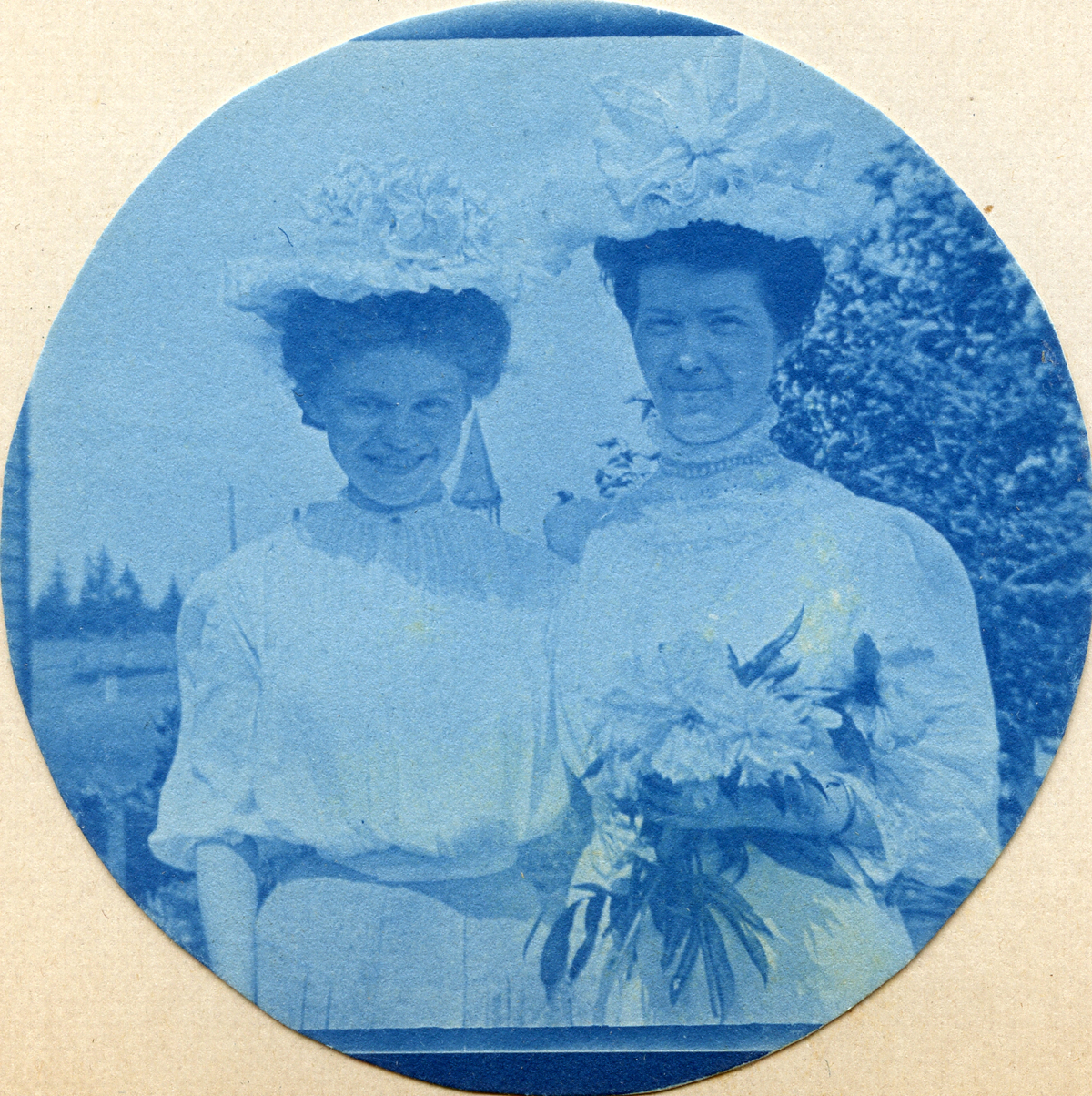 Two Carroll Sisters--Kate and Beatrice