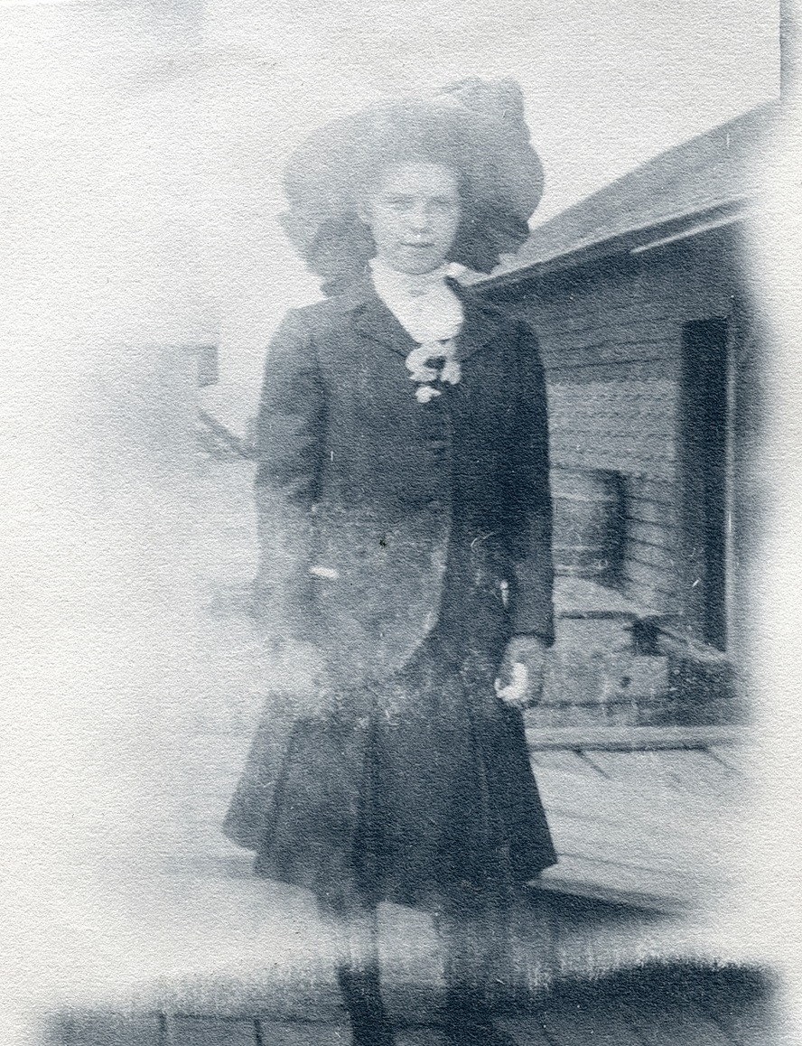 Winifred Russell Carroll at Steamboat Wharf