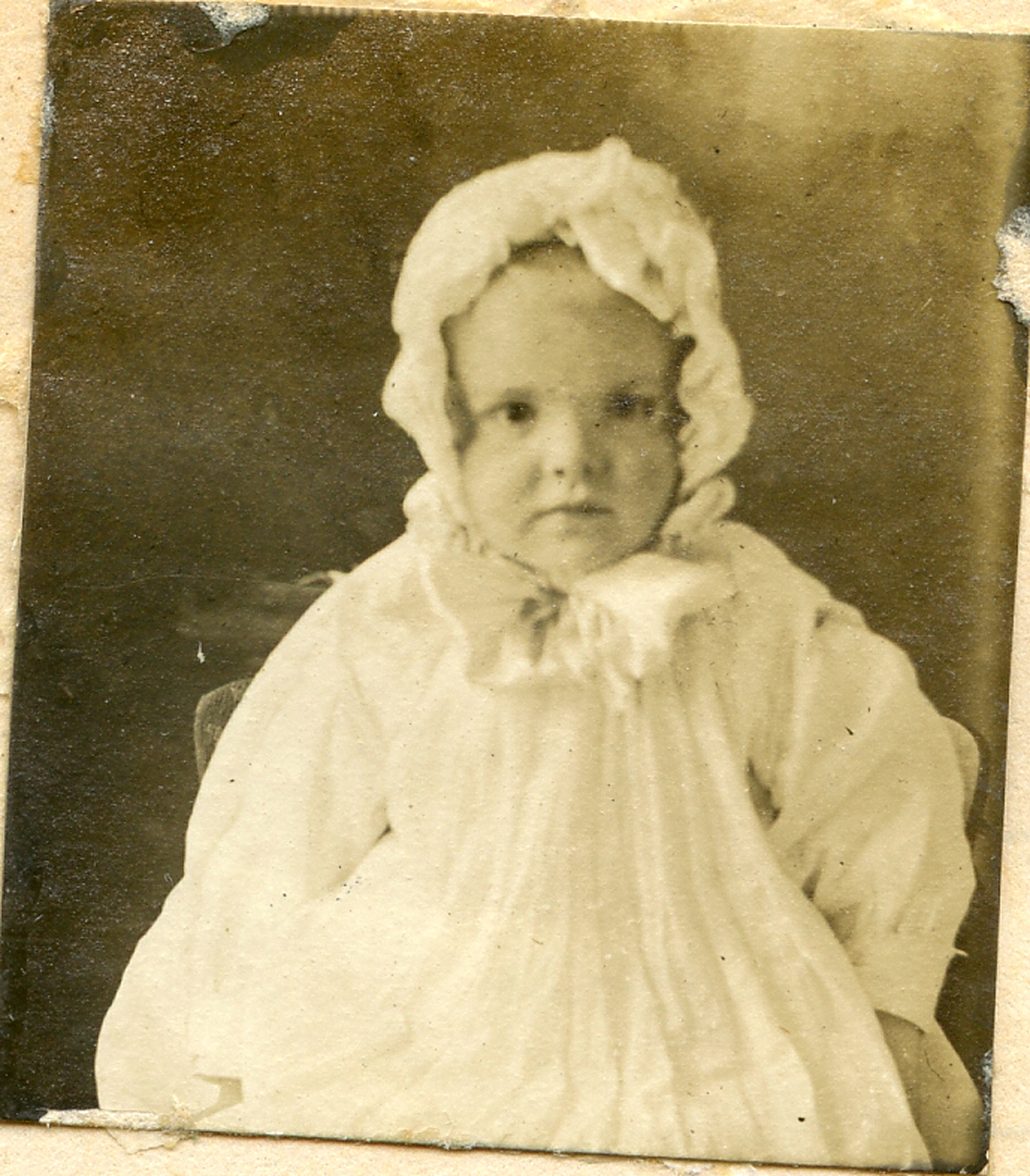 Portrait of Eleanor Lucille Clark as a Baby