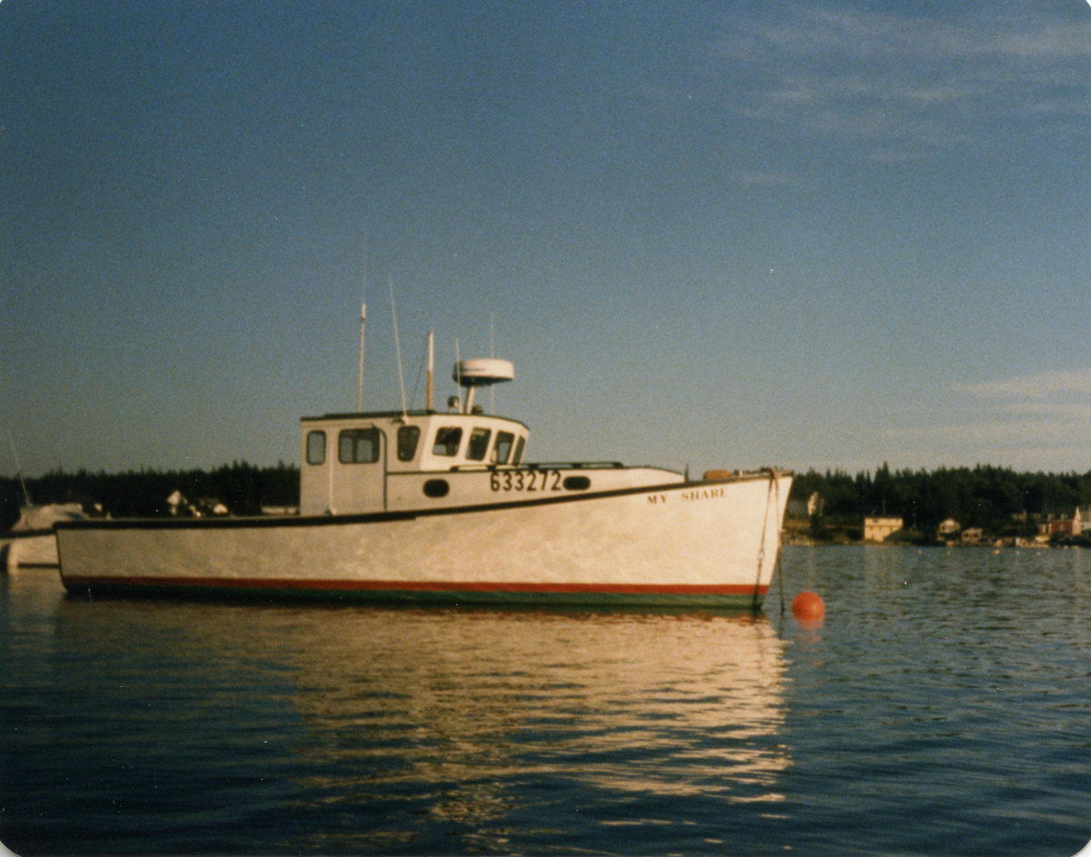 Walter Cecil Rich's Lobster Boat, My Share