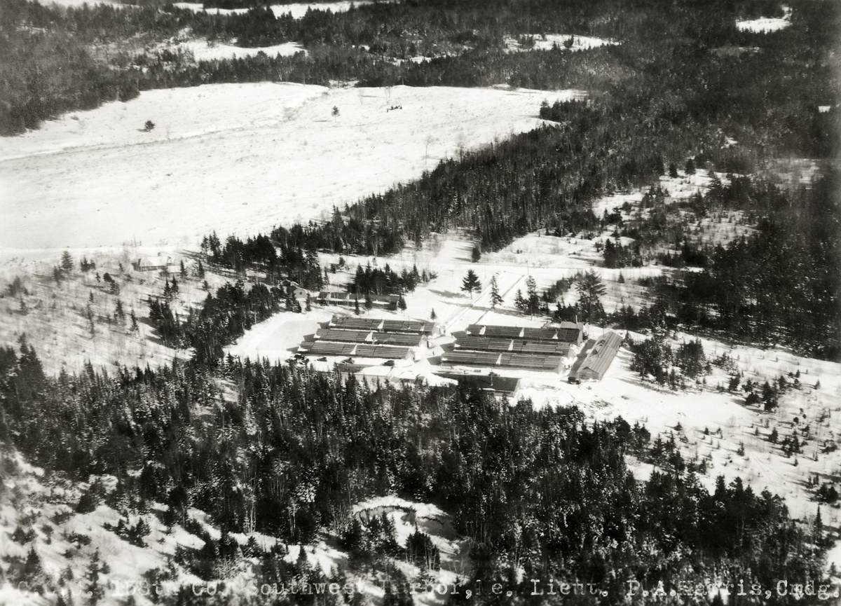 Aerial Views of Great Pond CCC Camp