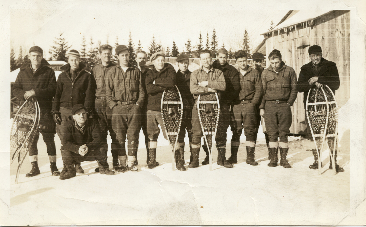 Members of Company 158, Great Pond CCC Camp