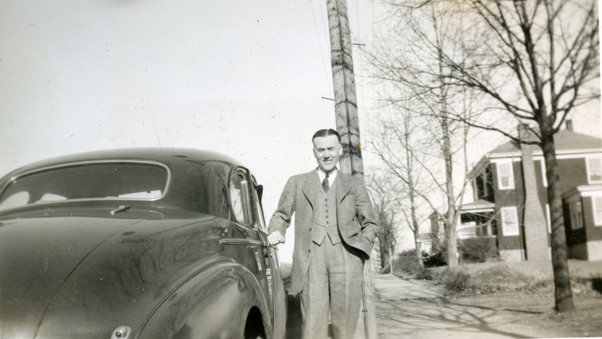 Unknown Man and Coupe