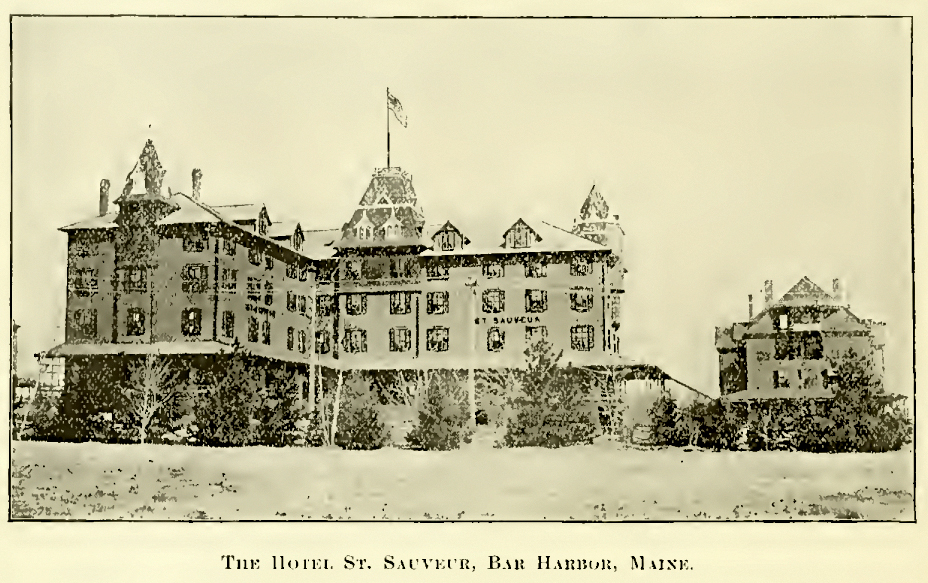 The Hotel St. Sauveur, Bar Harbor, Maine