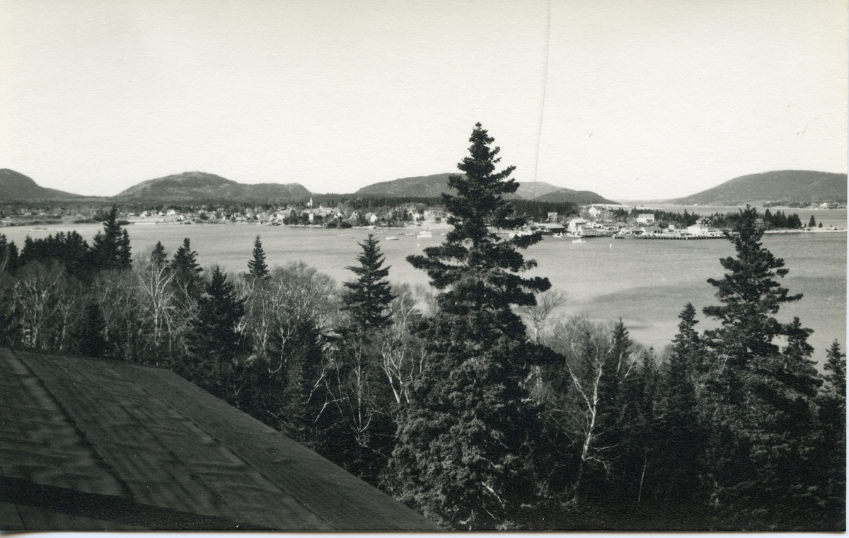 Clark Point, Southwest Harbor - View from Manset
