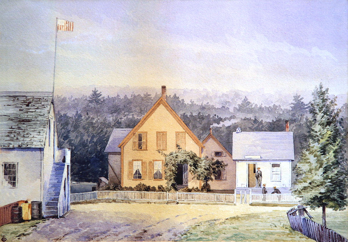 J.T.R. Freeman's House and Post Office