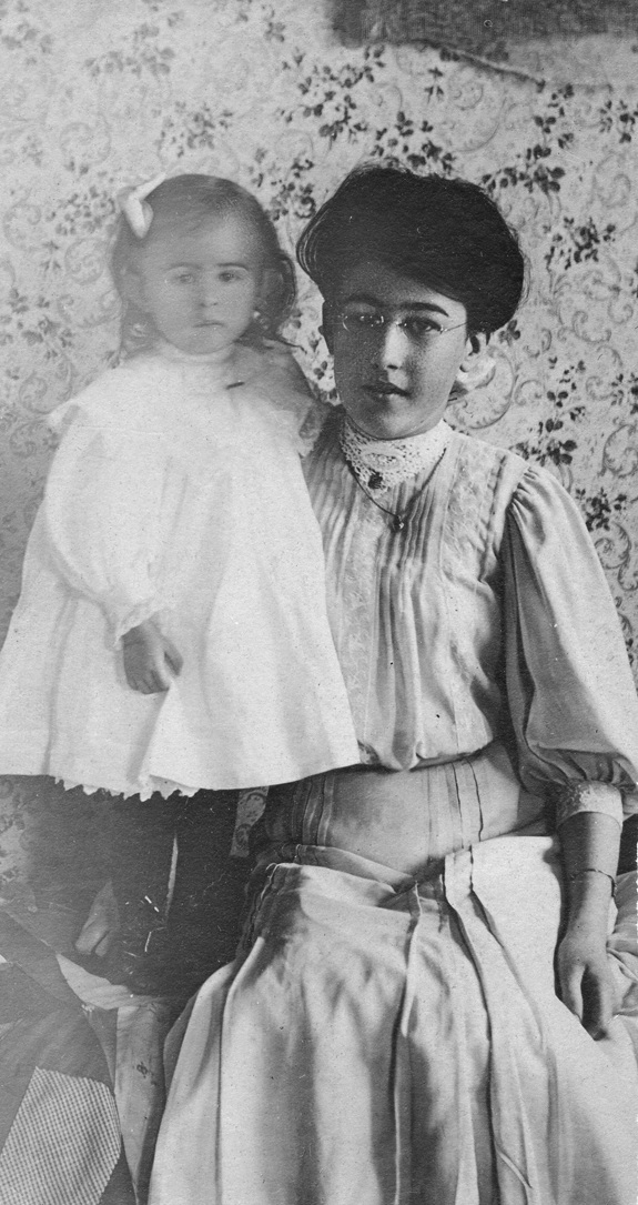 Sisters Ruth and Blanche Dolliver