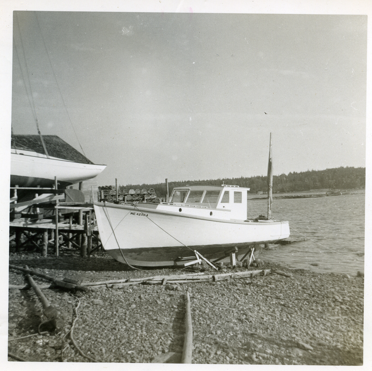 Lobster Boat Seven Girls Built by Ralph W. Stanley for his Father, Chester Warren Stanley