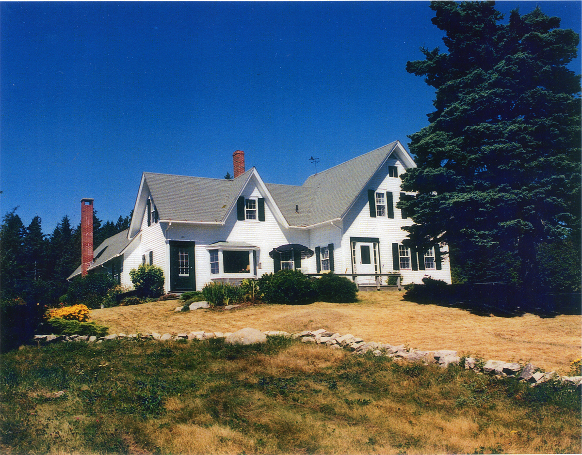 Abner Pomroy House at Dix Point, West Tremont