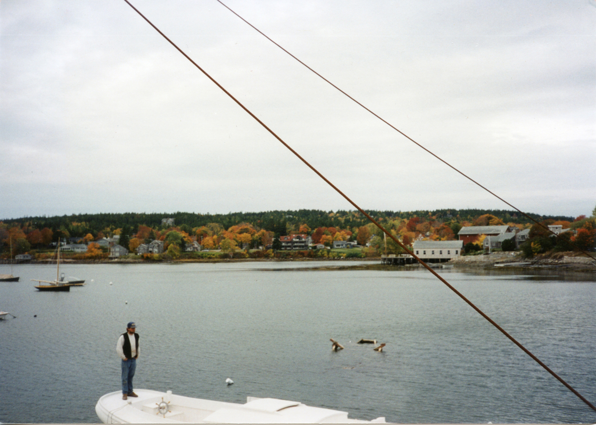 Morris Yachts Boat Shed and Head of the Harbor, Southwest Harbor, Maine - After 1972