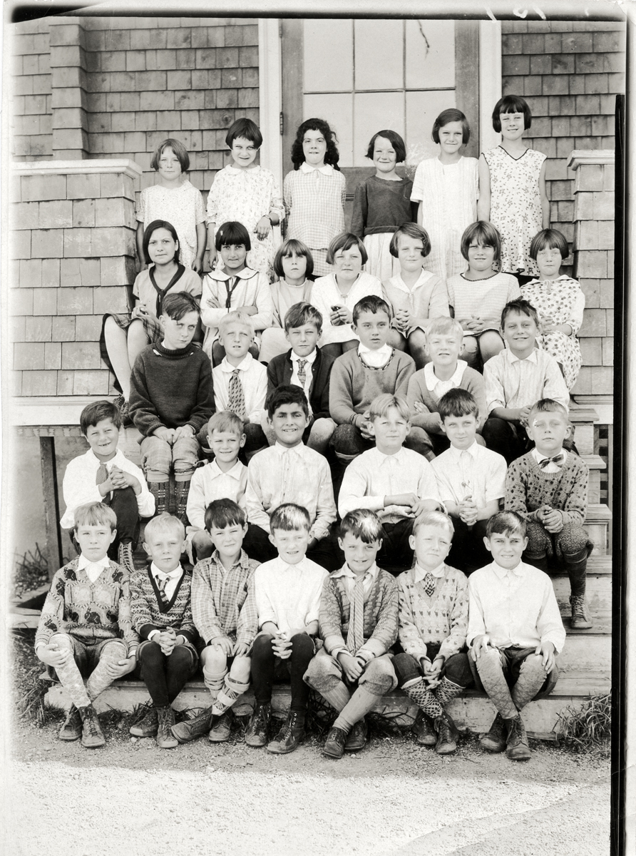 Students at the Southwest Harbor Primary School