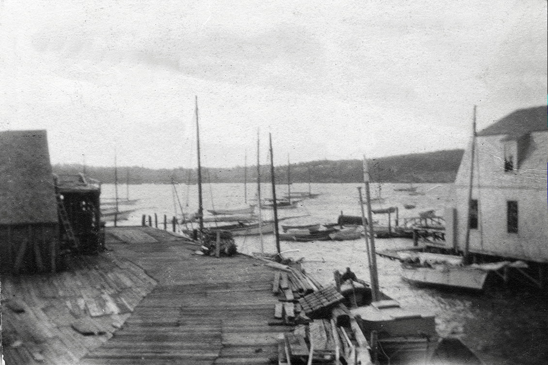 Steamboat Wharf in Southwest Harbor