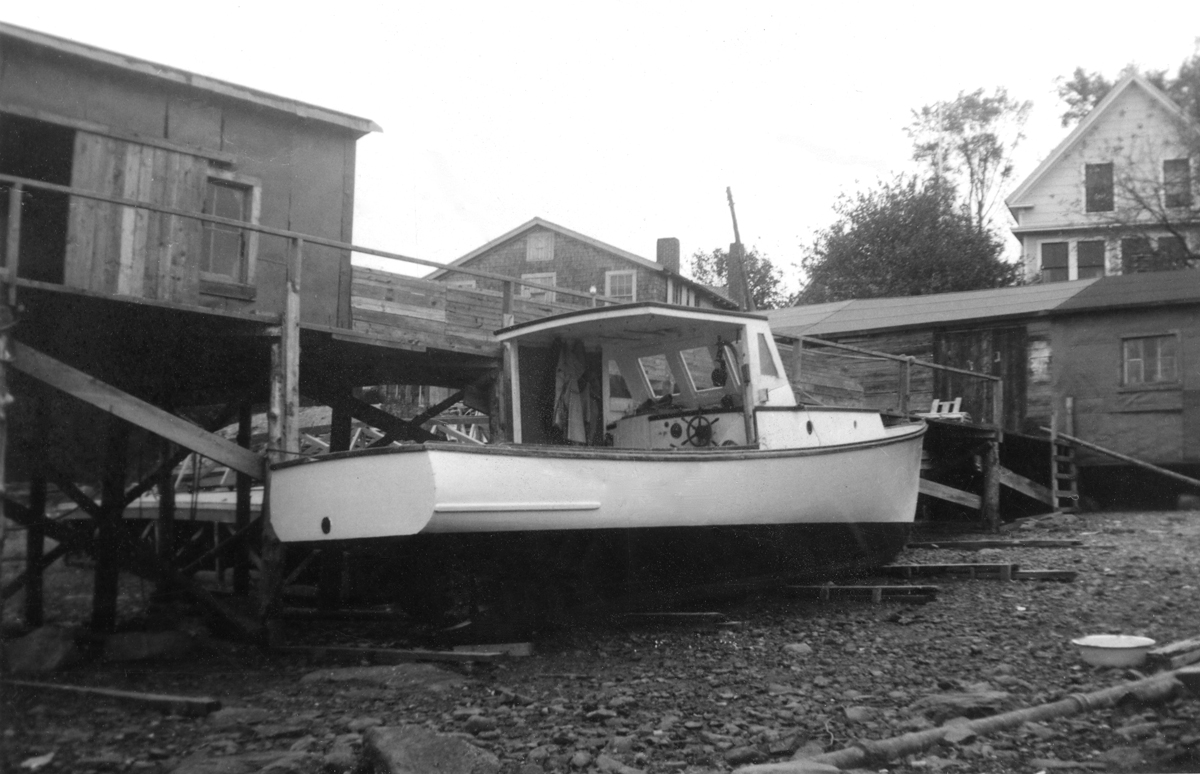 Ralph Stanley's First Lobster Boat