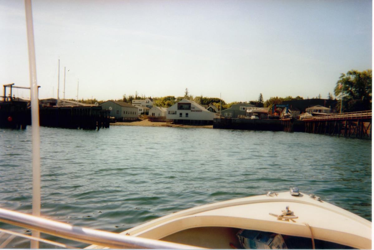 Hinckley Dock West to Cranberry Isles Dock on the Manset Shore