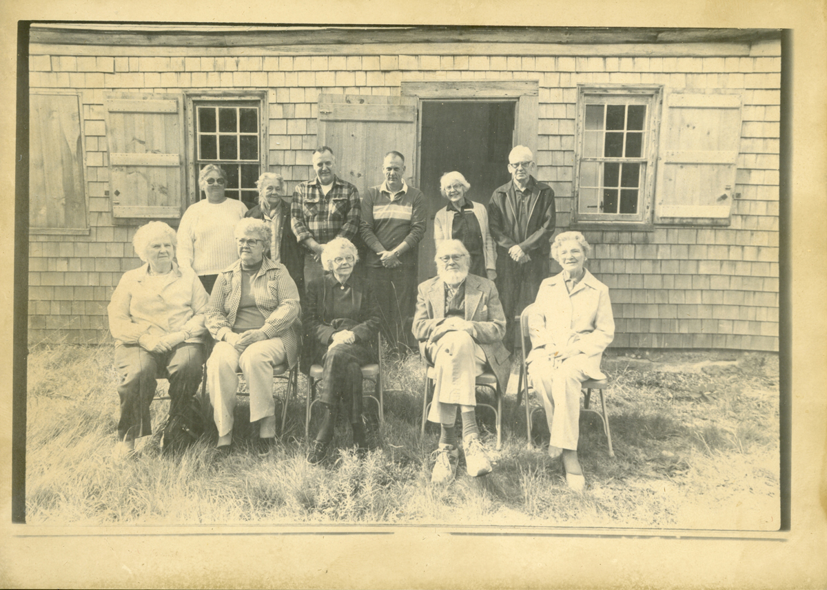 Members of the Theodore Benson Jr. Family at the Mountain House