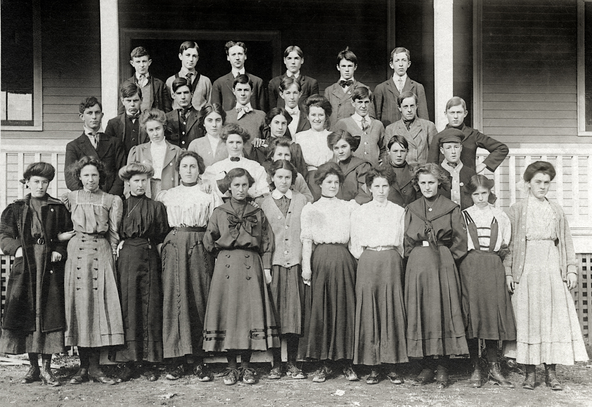Students of the Southwest Harbor High School
