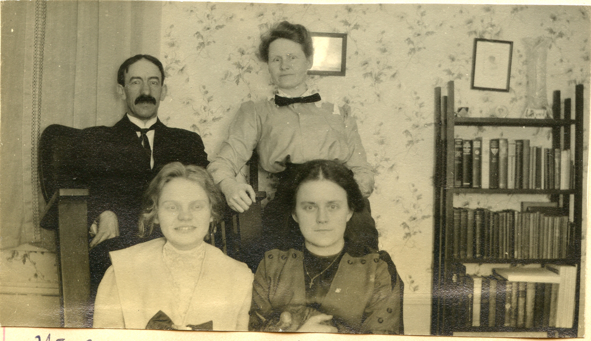 Nell and Seth Thornton with Beatrice Carroll and Unknown Woman