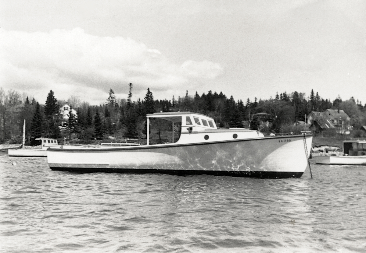Lobster Style Boat Built for John Wolf