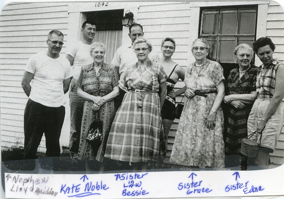 Katherine Noble and Family