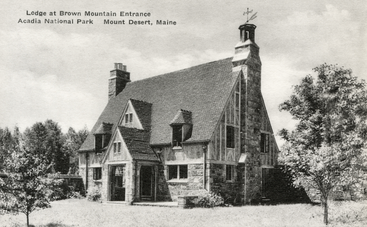 Brown Mountain Gate Lodge, Acadia National Park