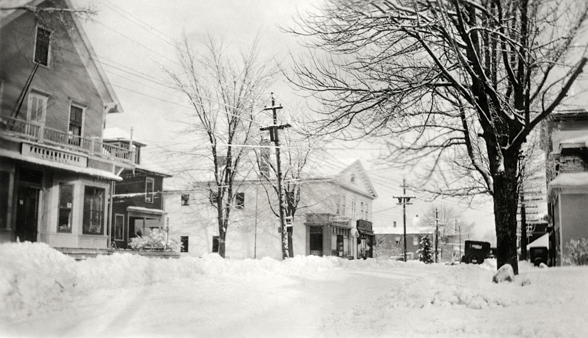 Freeman's Store and Carroll's Drug Store, Southwest Harbor