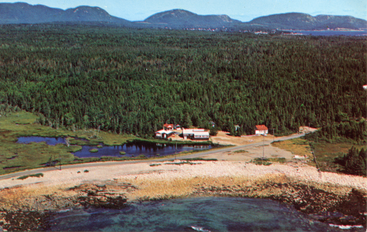 Aerial View of the Seawall Dining Room