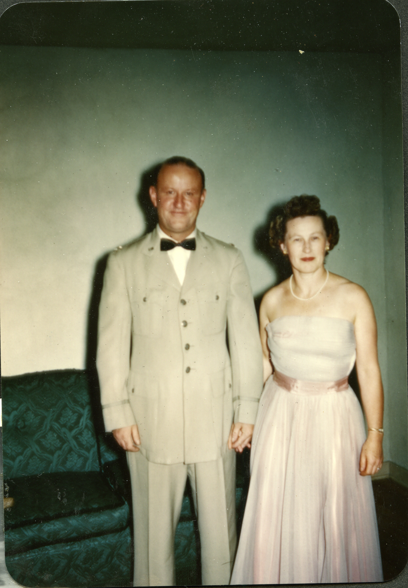 Esther A. (Thurston) Williams and William G. Williams Jr., Mr. And Mrs. William G. Williams Jr.