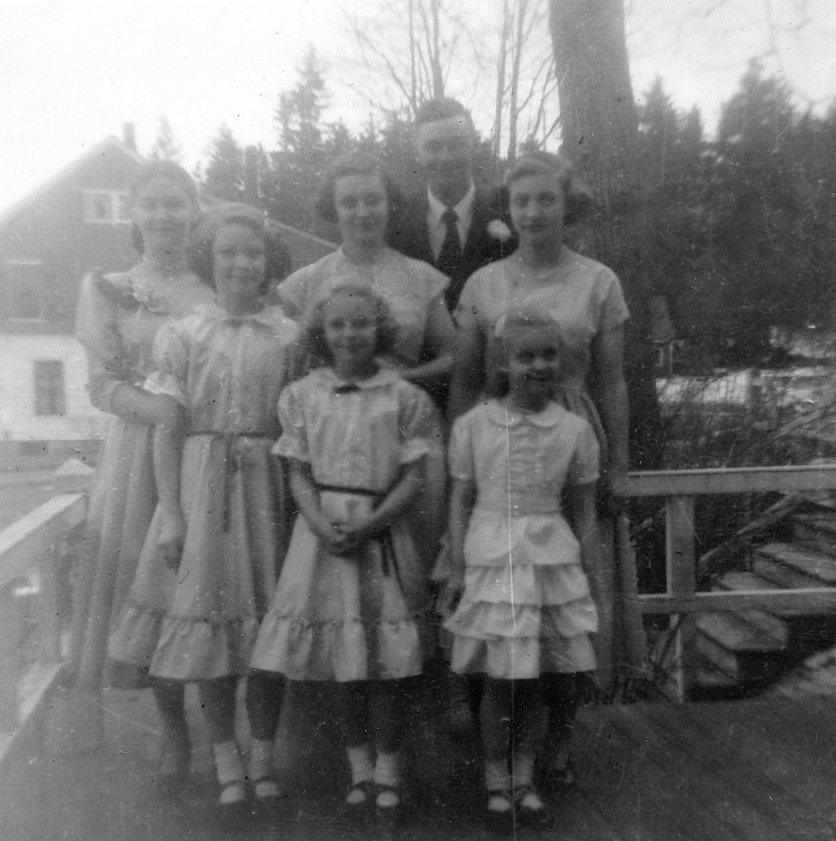 Ruth's Wedding - Ralph and Six Sisters
