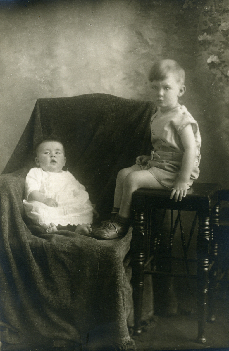 Ruth and Ralph as Children