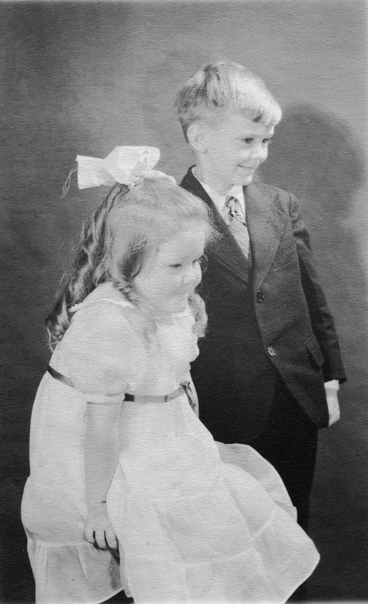 Ralph and Ruth as Children