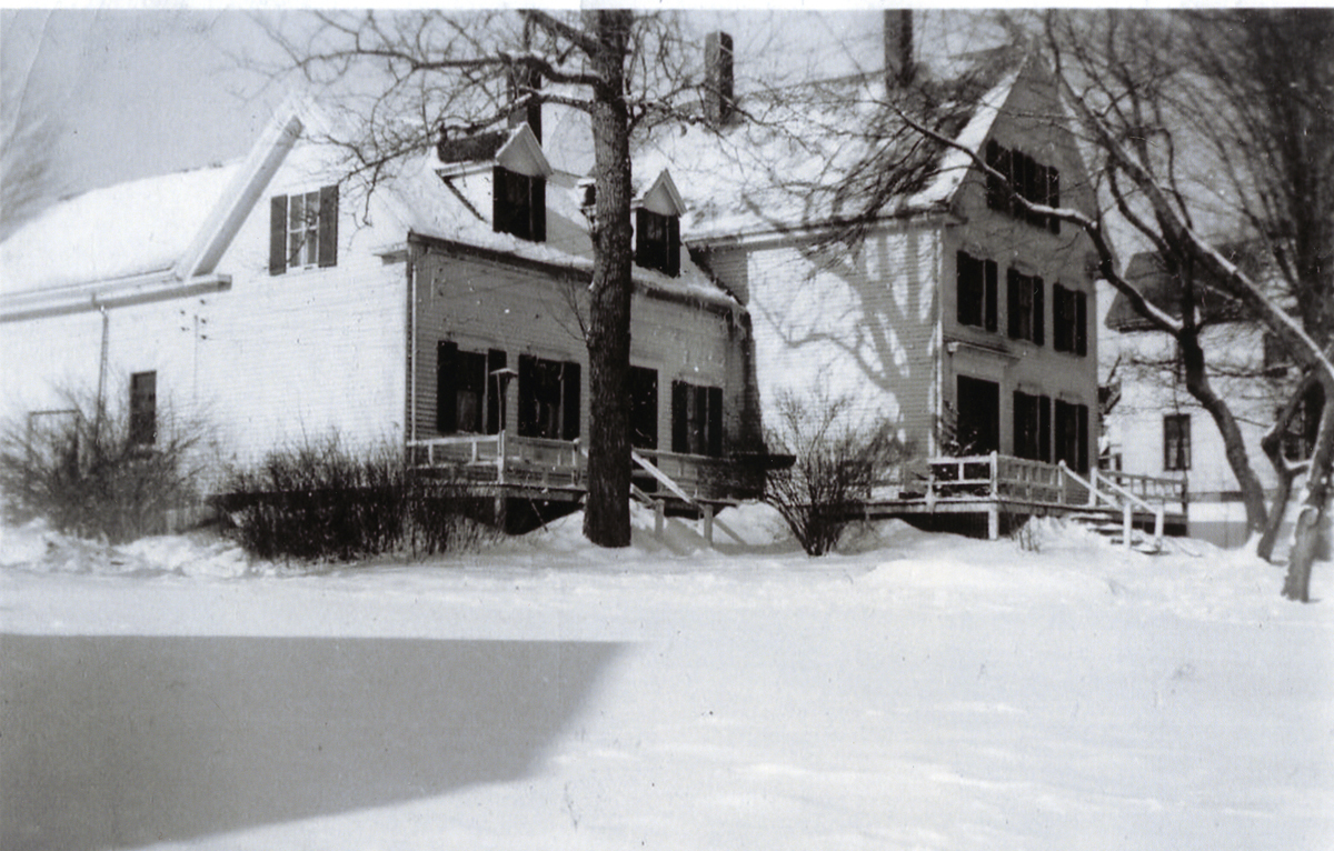 The Chester Warren Stanley House - The Adoniram Judson Robinson House in the Snow