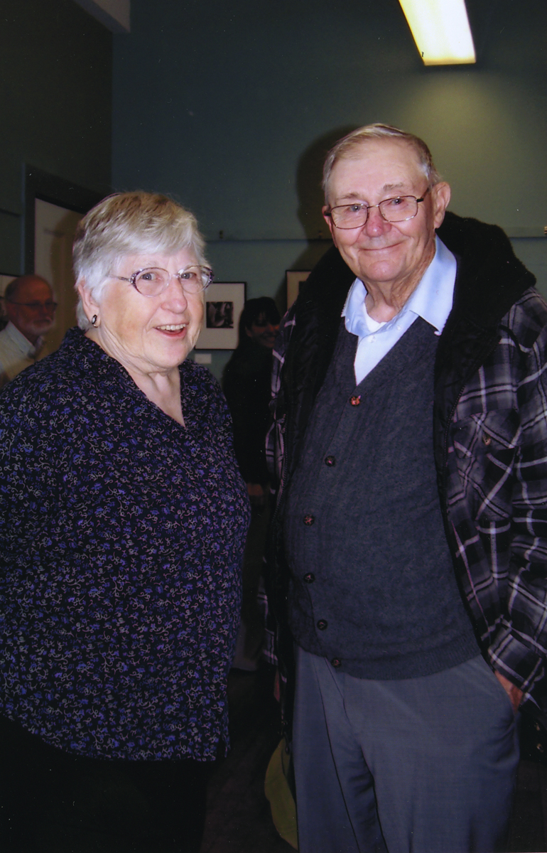 Marion and Ralph Smiling, Probably at the Pemetic Reunion
