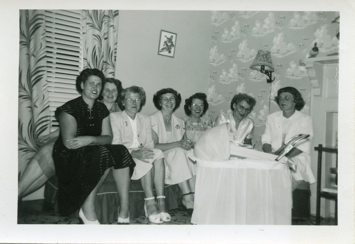 Baby Shower for Ruth Mae (Thurston) Grindle, Mrs. Ralph Merrill Grindle