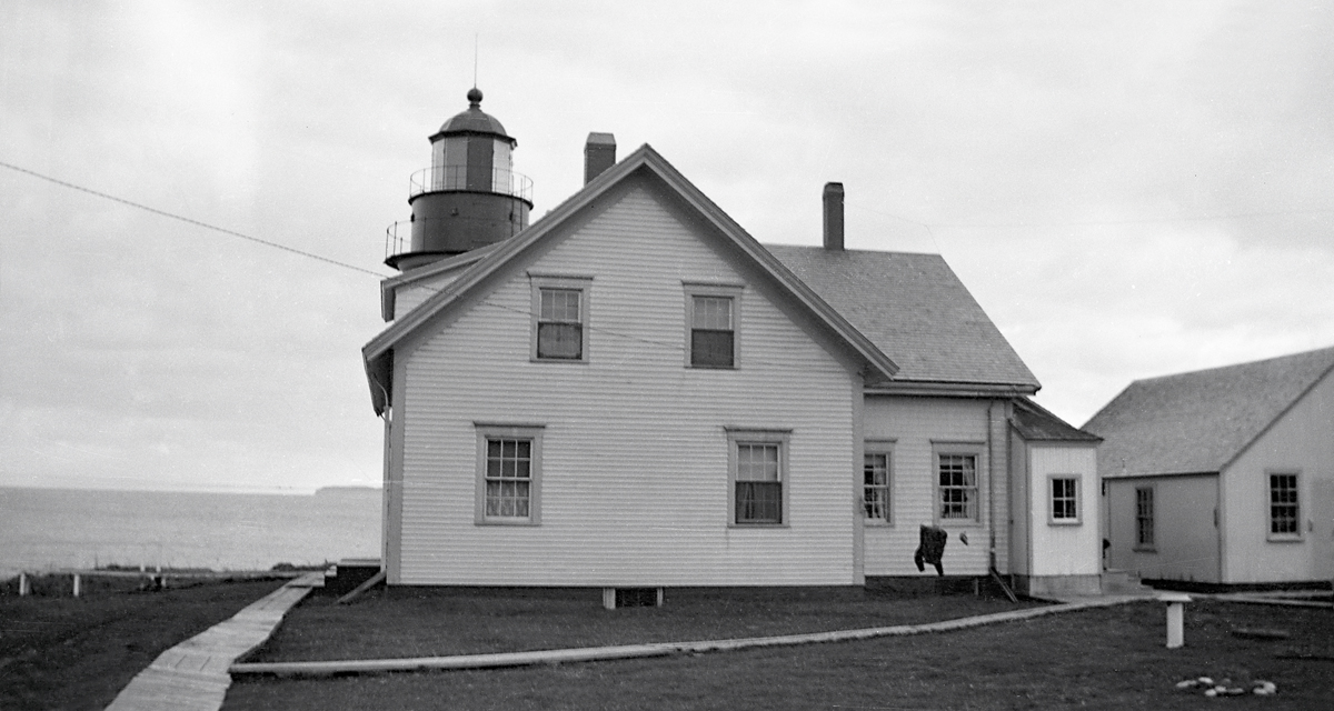 West Quoddy Head Light - The Light and Keeper's House