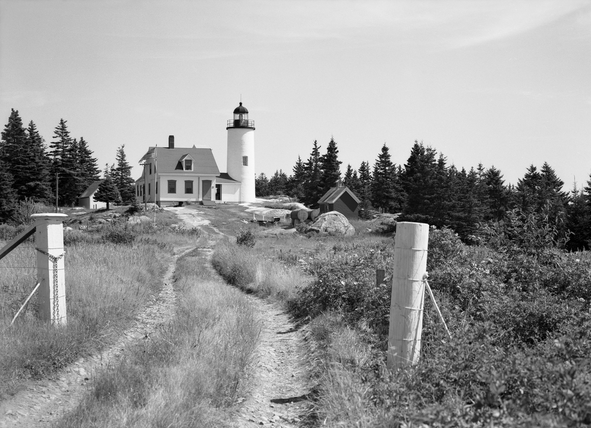 Baker Island Light from the North