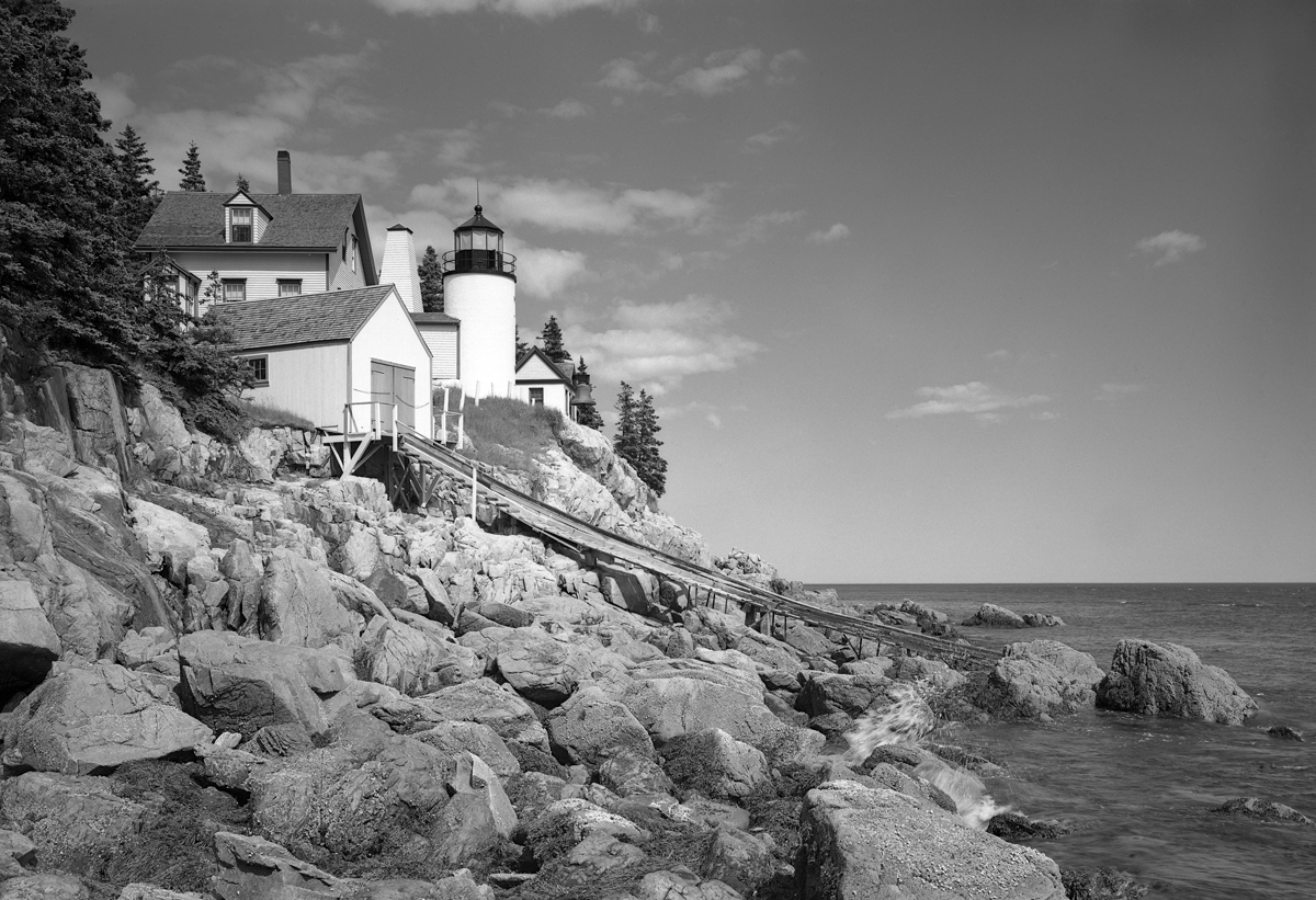Lighthouses and Life Saving Stations of Mount Desert Island