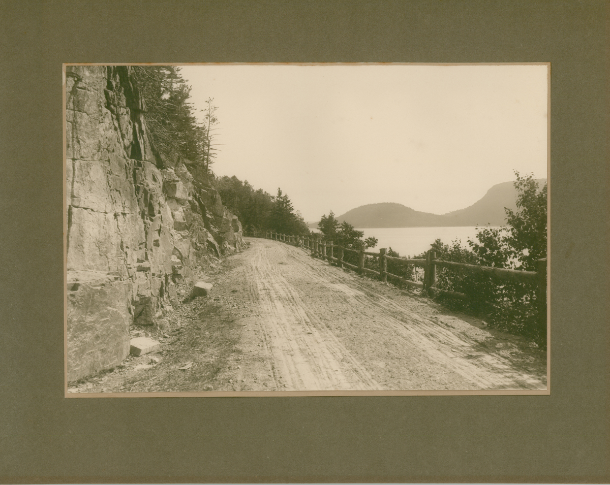 View South from Sargent Drive on Somes Sound