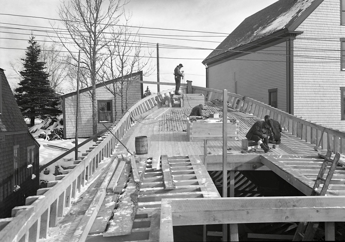 Unknown Boat Under Construction at Southwest Boat Corporation