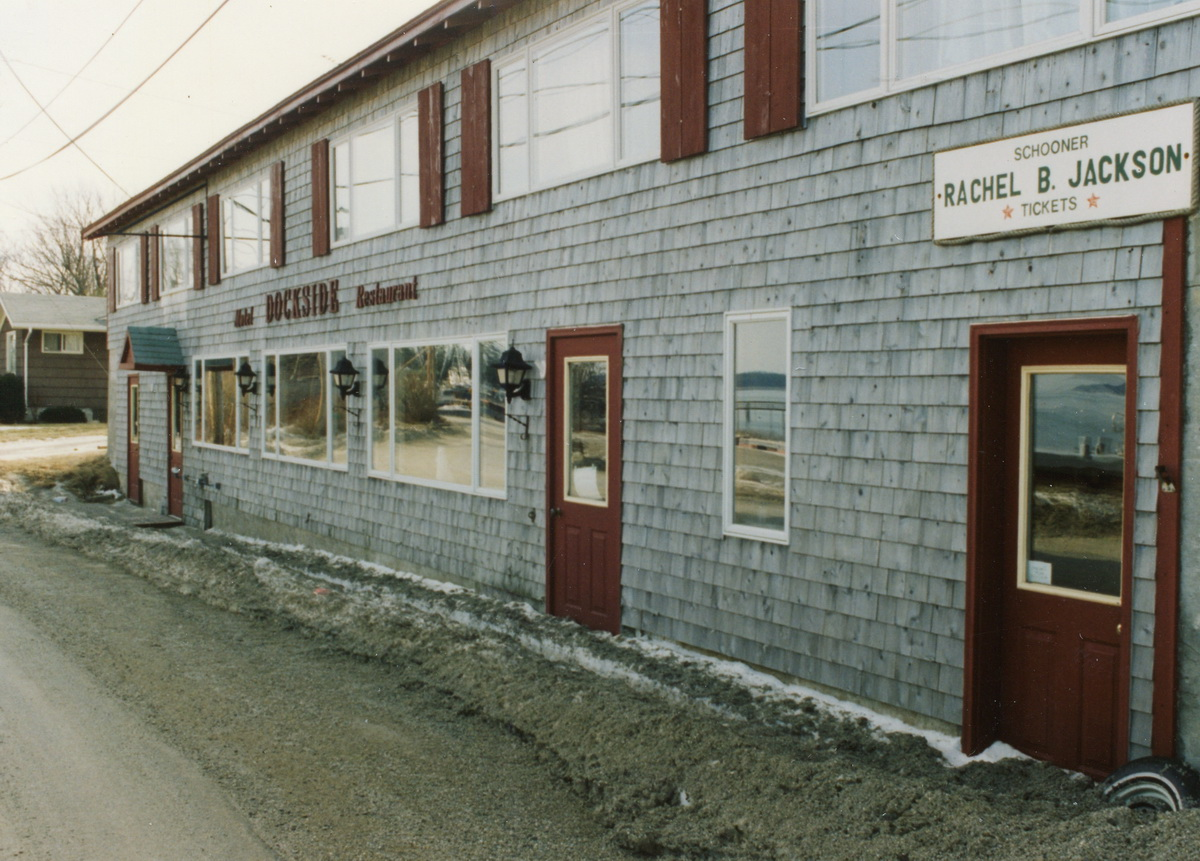 The Franklin Ward Machine Shop as The Dockside Motel and Restaurant
