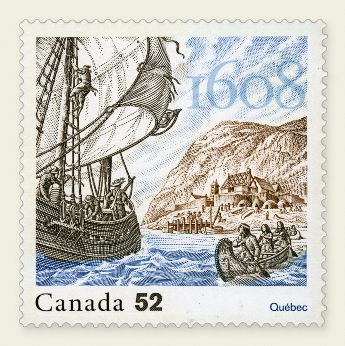 Canada Stamp - Don de Dieu - Issued May 16, 2008