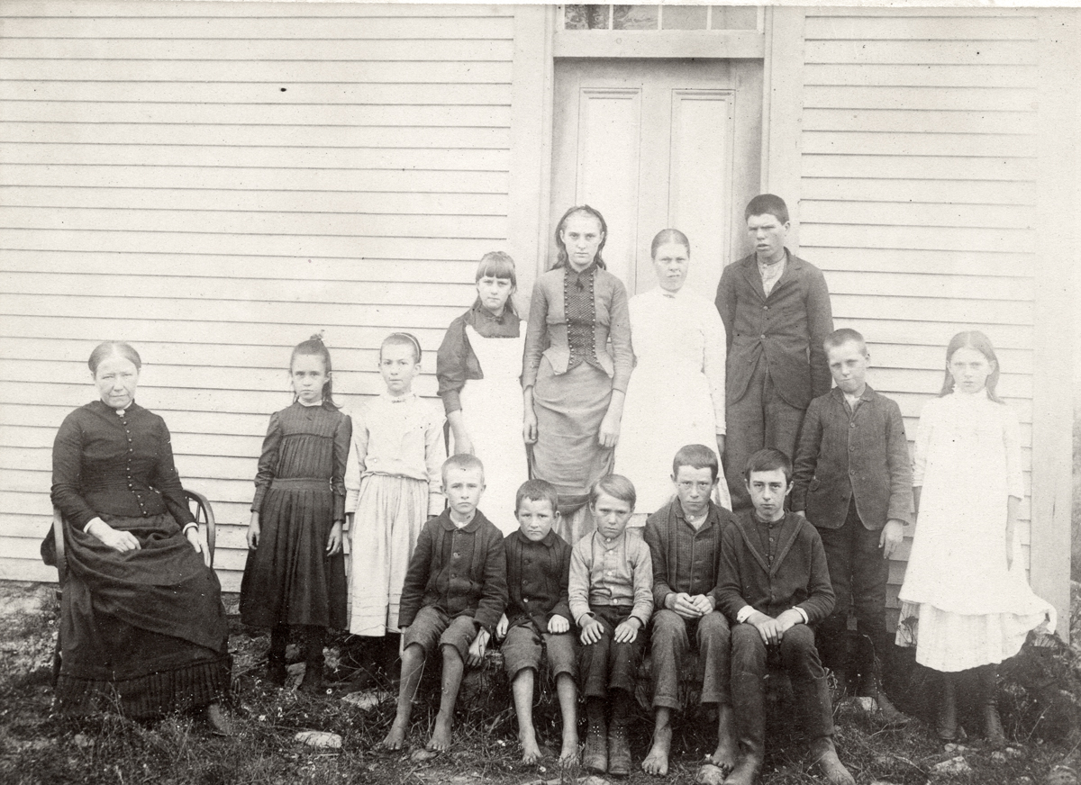 Mary Anne Carroll and Students, Eden, Maine