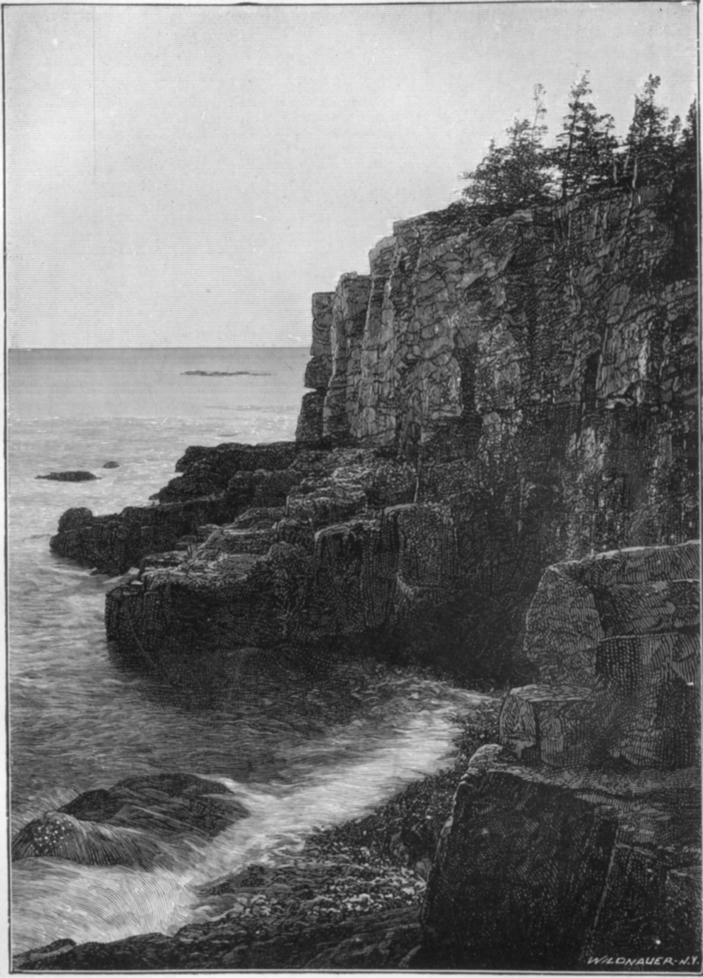 Otter Cliff - Before 1905
